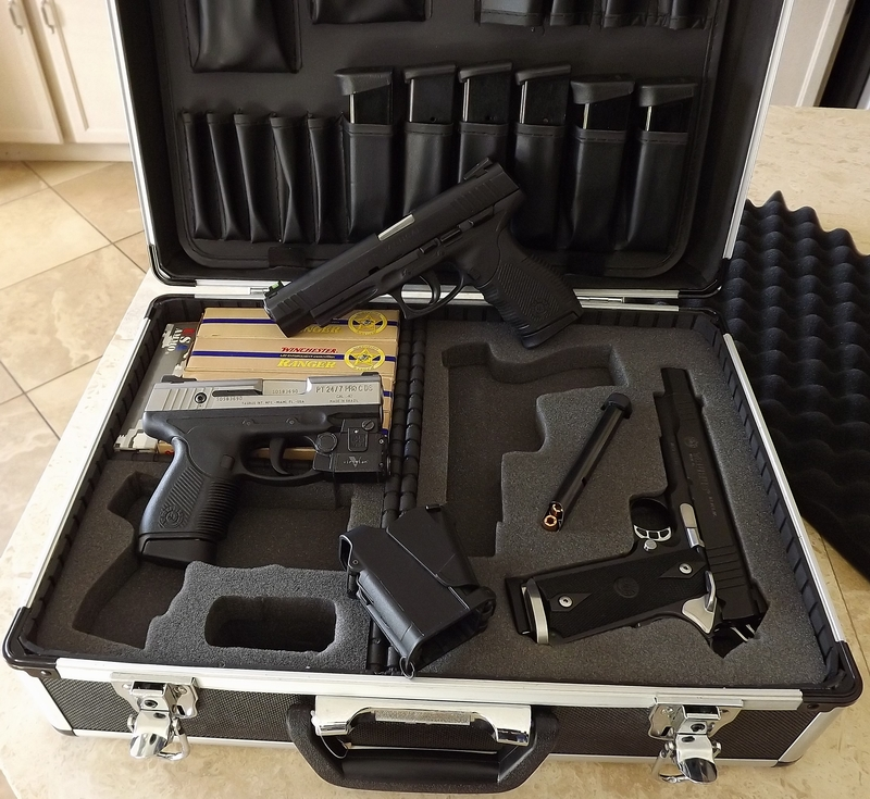 how to cut out foam for gun case